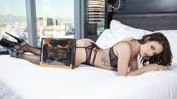 Kissa And Johnny Sins Put The Pornhub Restrain Bondage Kit To The Internal Ejaculation Test