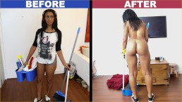 Bangbros  Black Maid Arianna Knight Has An Astounding Assets
