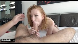 Jammed  Redhead With A Bootie Katy Smooch Gets Her Taut Labia Drilled